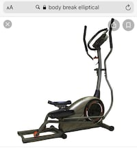 Elliptical machine by Body Break
