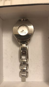 Silver and gold analog watch Toronto, M3H 5K3