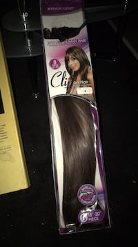 STRAIGHT CLIP IN EXTENSIONS SYNTHETIC 786 km