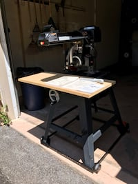 Radial Arm saw and portable stand Whitchurch-Stouffville, L4A 2C9