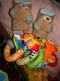 Car Seat Toy & Strap Covers