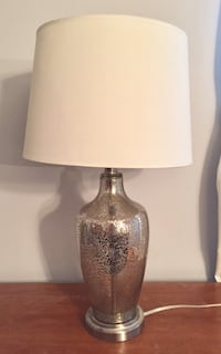 Silver/gold patterned lamp 15 km