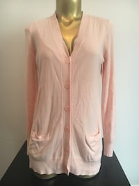 Pink cardigan size small  Laval, H7G 0E7