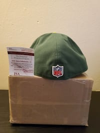 Authenticated Aaron Rodgers Signed Hat