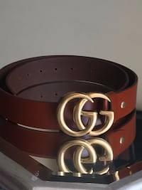 red and black leather belt Rockville, 20850
