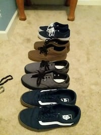 Light wear Vans all 10s Rocky Mount, 24151