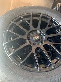 Rims  and tire 245/60/18