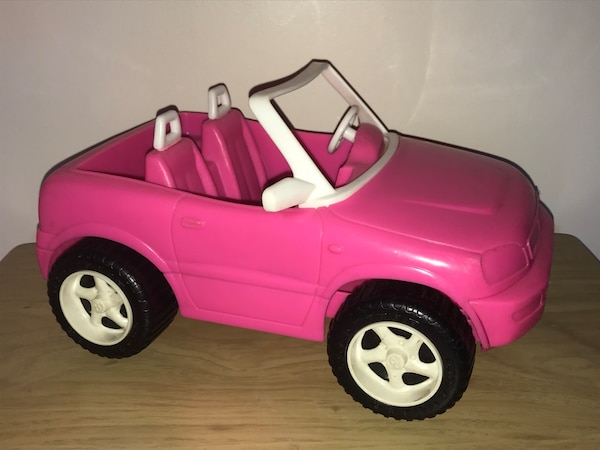 $5 Barbie Pink Car