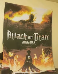 Attack on titan anime poster  Las Vegas, 89130