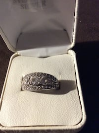 JUST REDUCED Sterling 5-stone ring Rockville, 20852