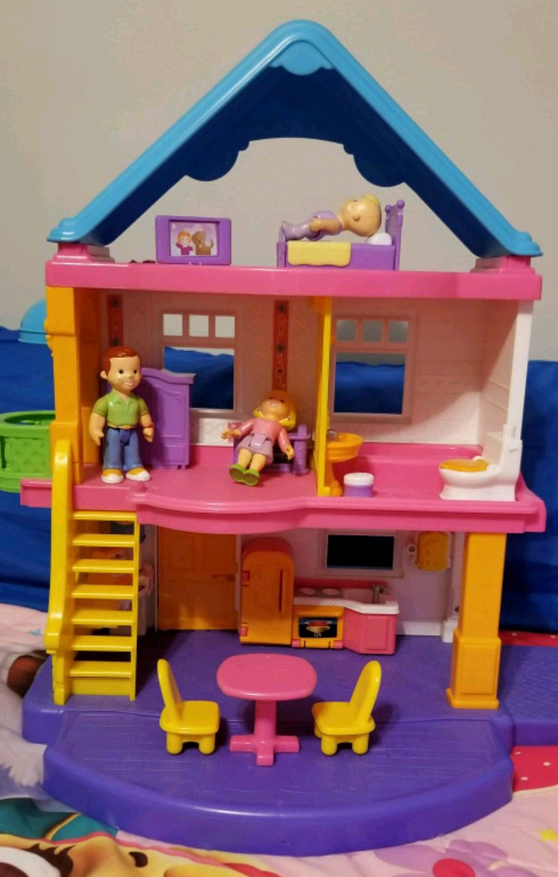 used fisher price doll house for sale in dunellen letgo rh us letgo com