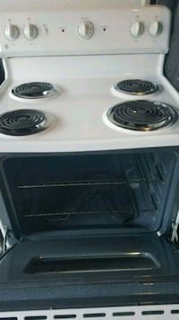 white and black 4-coil range oven Marlow Heights, 20748