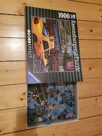 1000 Teile Puzzle mit Glosseffect