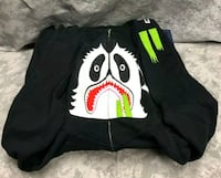 Bape Panda Full Zip Black Fairfax, 22030