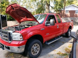 Ford F-250 XLT extended cab, 8 foot bed.