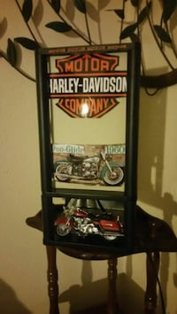 Custom-made Harley-Davidson lamp San Antonio, 78201