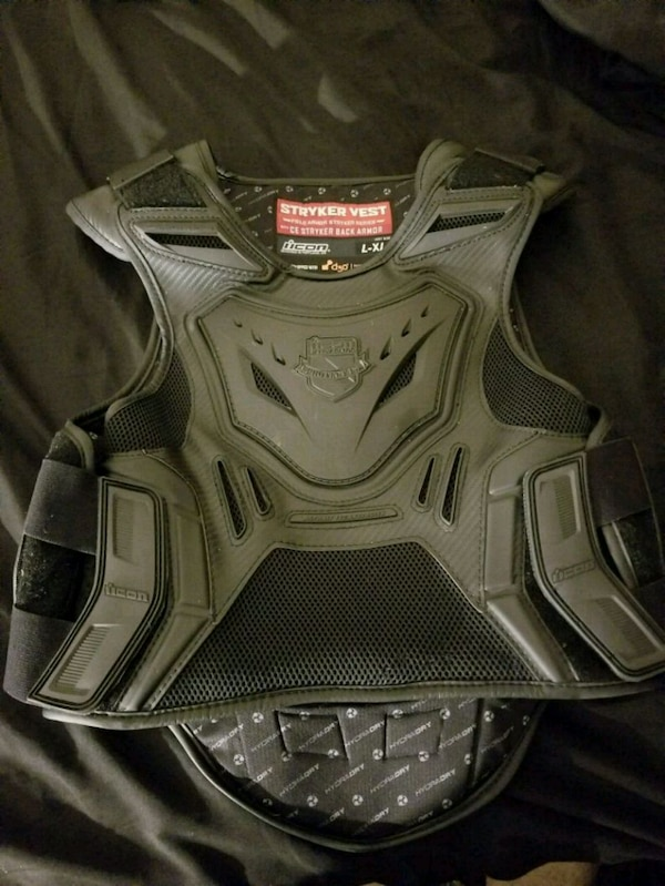Icon Stryker motorcycle vest