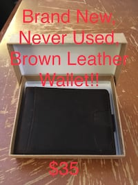 Brown Leather Wallet Edmonton, T5T 4C5