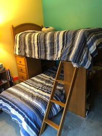 Wood Bunk Bed Goose Creek, 29445