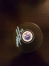 Mark Fistric Autographed Puck For Sale