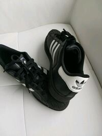 pair of black-and-white Adidas athletic shoes Oakville, L6J 7Z5