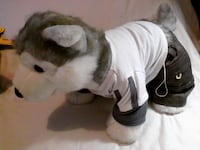 Build-A-Bear Husky Dog with sound and choice of outfit Brampton