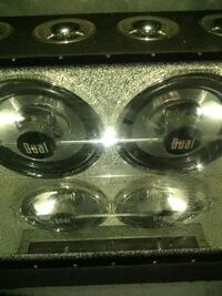 2/550 watt.deul subs .bandpass box.it hits hard Des Moines, 50313