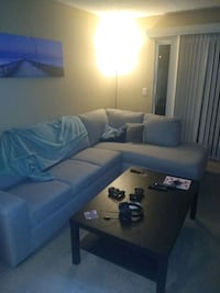 Couch and chaise lounge