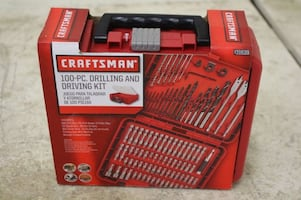 Brand New 100 Piece Craftsman Drill & Drive Bit Set