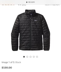 Brand new men's Patagonia puff jacket! Size large with tags!! Hoover, 35216