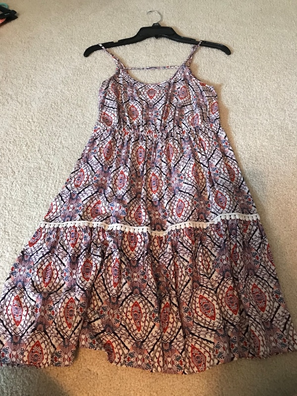 Boho size small dress