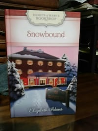 Secrets of Mary's bookshop series,  SnowBound book