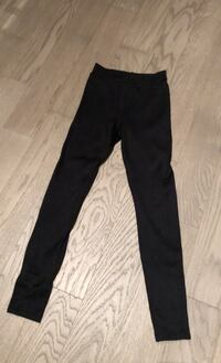 House of Cb Black Ribbed Leggings XS Toronto, M4Y 0E4