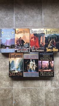 Terry Goodkind Sword of Truth first seven  paperbacks Bremerton, 98312