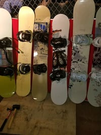 Snowboards & Boots or Package Deal.