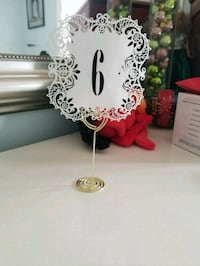 1-30 table numbers and stands Mississauga, L5B 1T7