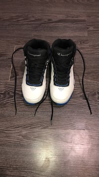 Champion shoes brand new probably been worn 2-3 times Grande Prairie, T8V 4T8