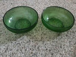 Vintage candy dishes