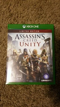 Assassin's Creed Unity Xbox One game case Mesa, 85202