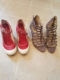 Women's Shoes, Size 9.5. Each Pair Is $8.00. Springfield, 22153