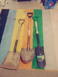 Assorted shovels.  Surrey, V3W 8Z3