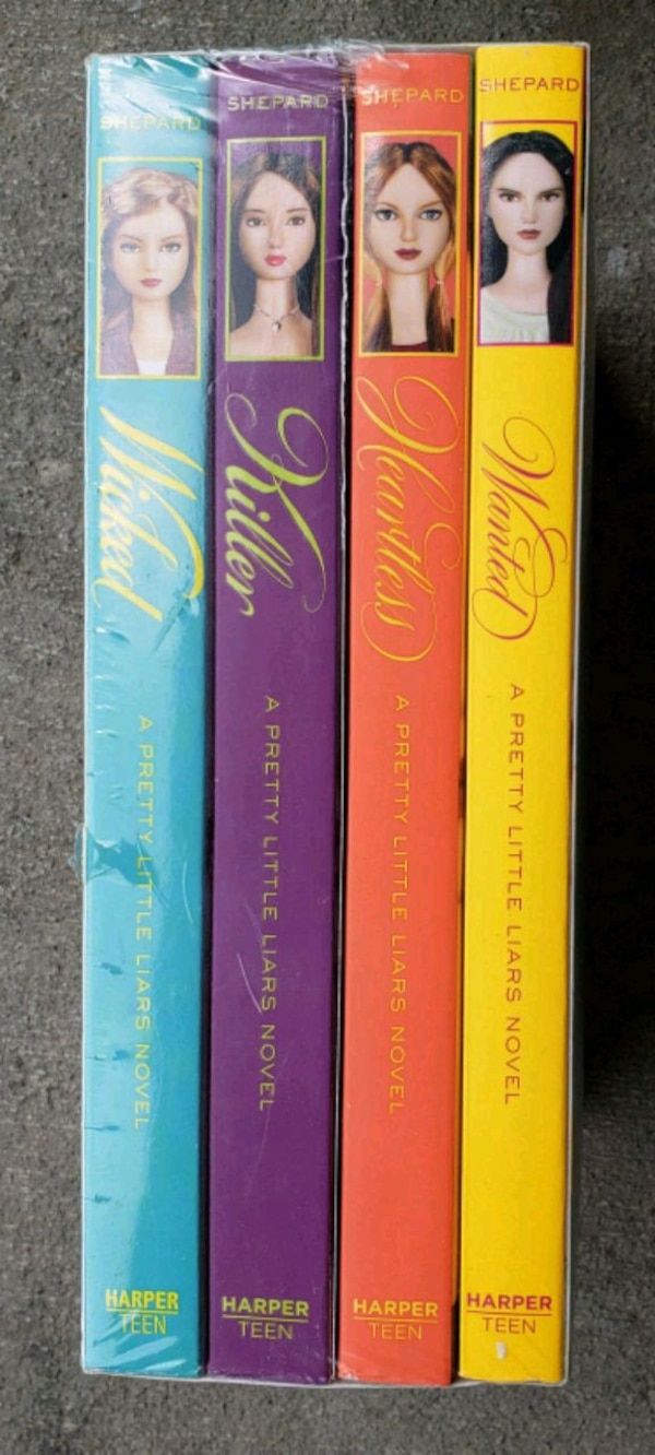 Pretty little Liars Box Set 4-8