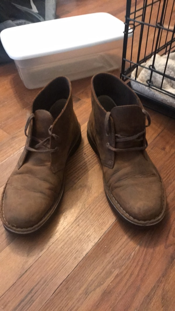 00b7b554c9df Used brown leather clarks for sale in San Jose - letgo