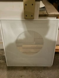 2' x 2' White Ceiling Tile Air Vent Grate Lowell, 01851