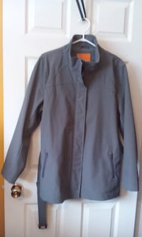 CLASSY DRESS COAT/BELTED SIZE MED $10 Central Okanagan