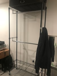 VERY sturdy clothing rack and under bed storage New York, 11217