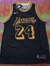 CANOTTA BASKET BRYANT 24 LAKERS NBA JERSEY L