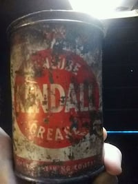 Kendall grease can