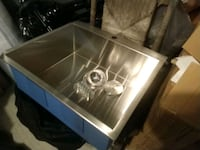 Stainless steel sink regular $330 for sale 175 Winchester, 40391