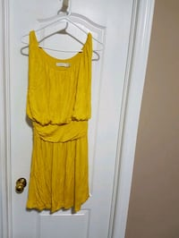 Yellow summer dress  Markham